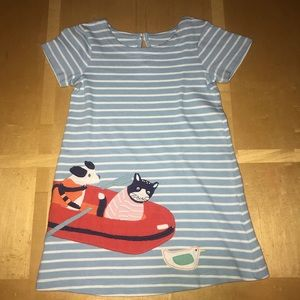 👧🏼 Mini Boden Rescue Pets Applique Dress